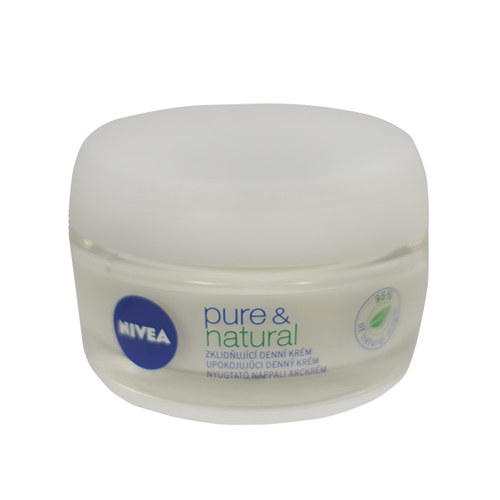 Nivea Pure & Natural, Denný arcápoló cream 50ml