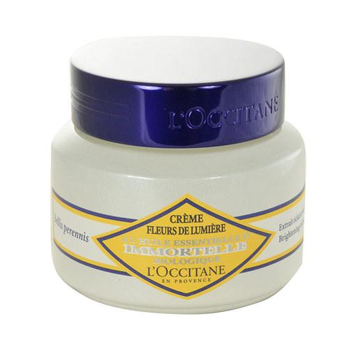 L´Occitane Immortelle Brightening Moisture Cream, Denný krém na všetky typy pleti - 50ml, Pro rozjasnění pleti