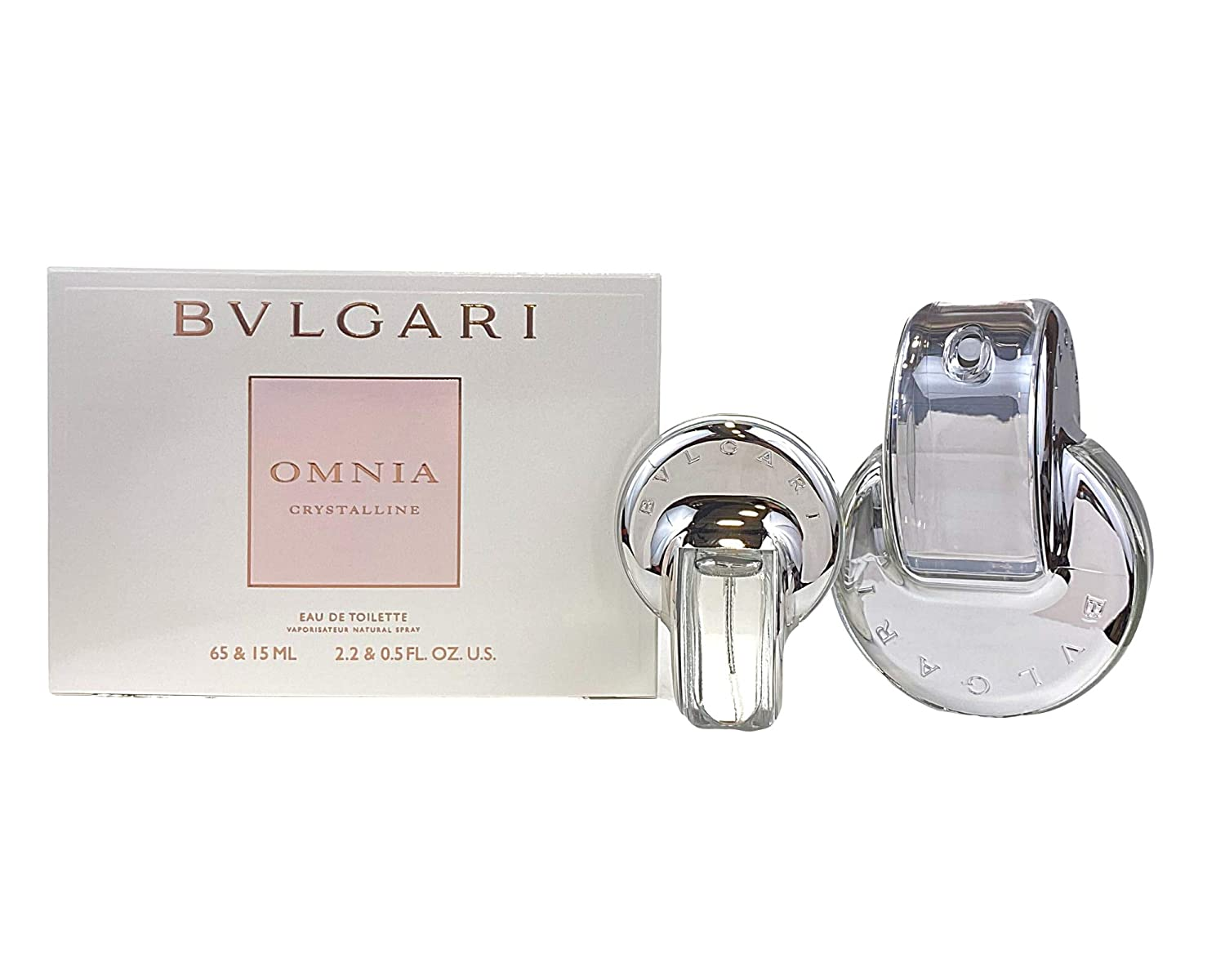 Bvlgari Omnia Crystalline SET: edt 65ml + edt 15ml