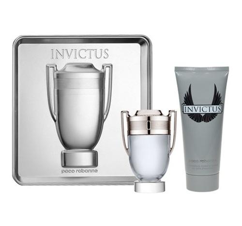 Paco Rabanne Invictus, Edt 50ml + 100ml sprchový gel