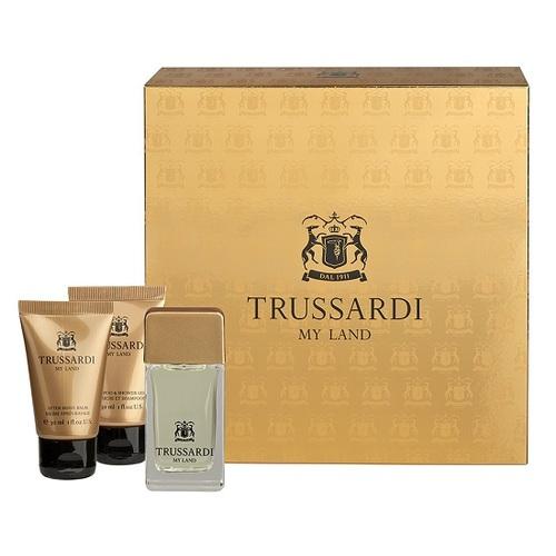 Trussardi My Land, Edt 30ml + 30ml sprchový gel + 30ml balzám po holení