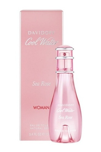 Davidoff Cool Water Sea Rose, Toaletná voda 100ml