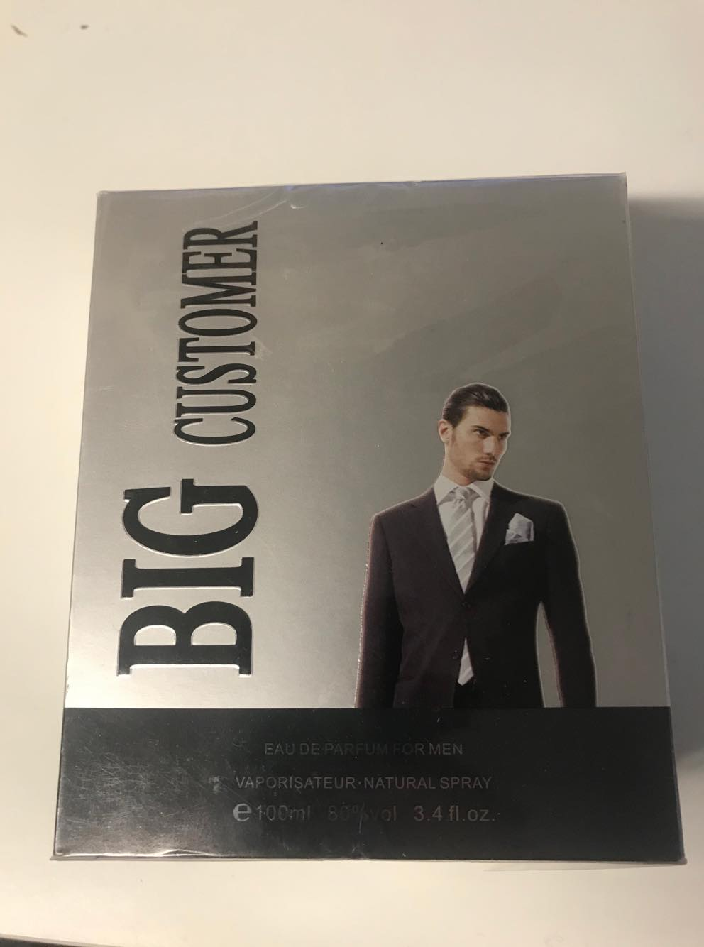 Tiverton Big Customer, edp 100ml (Alternatív illat Hugo Boss No.6)