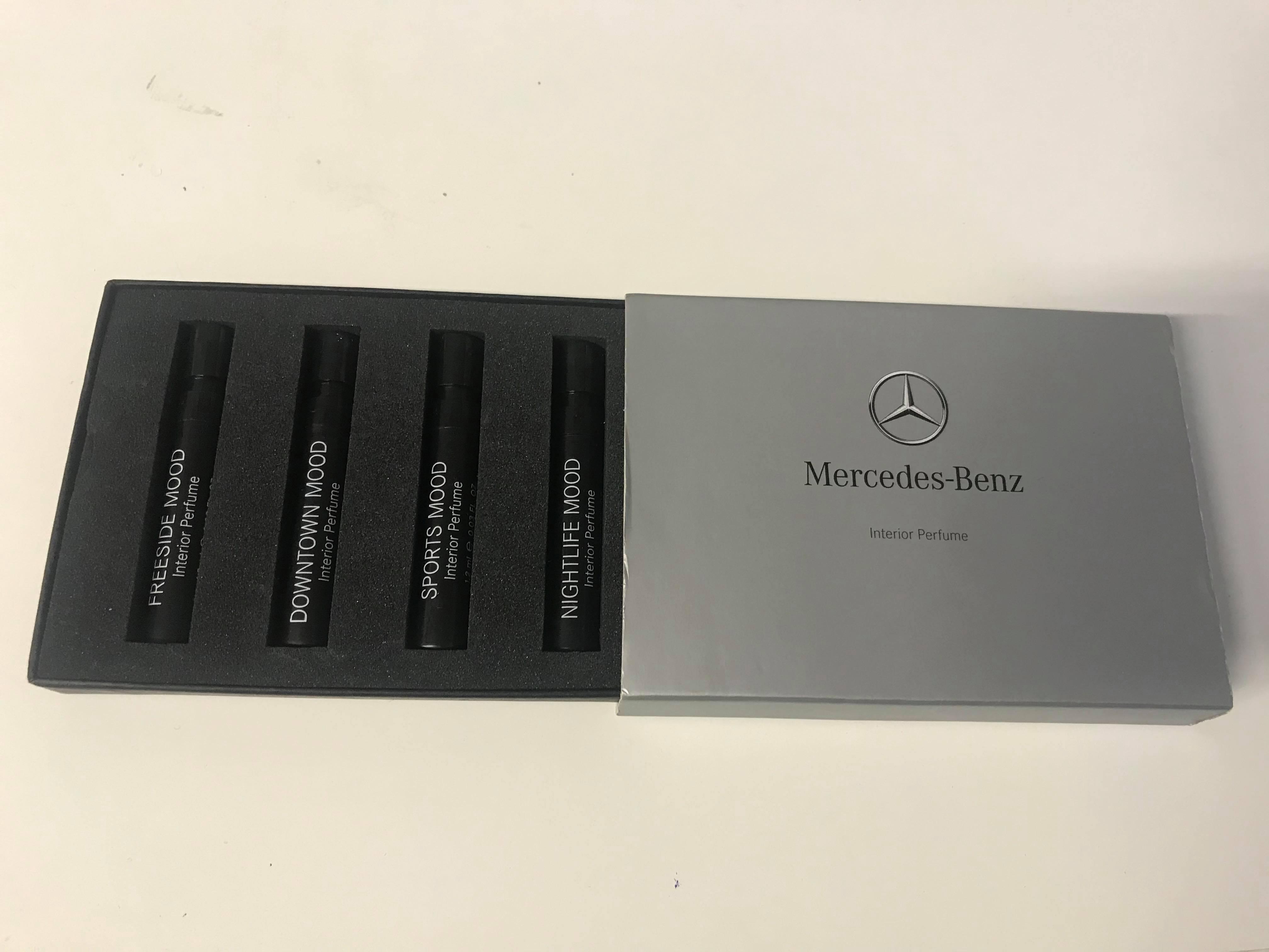 Mercedes Benz Illatminta 4x 1.2ml, Freeside Mood + Downtown Mood + Sports Mood + Nightlife Mood