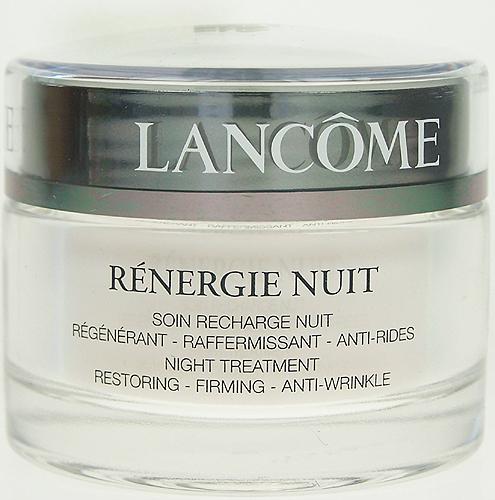 Lancome Renergie Nuit Anti-Wrinkle, Prípravok proti vráskam - 50ml