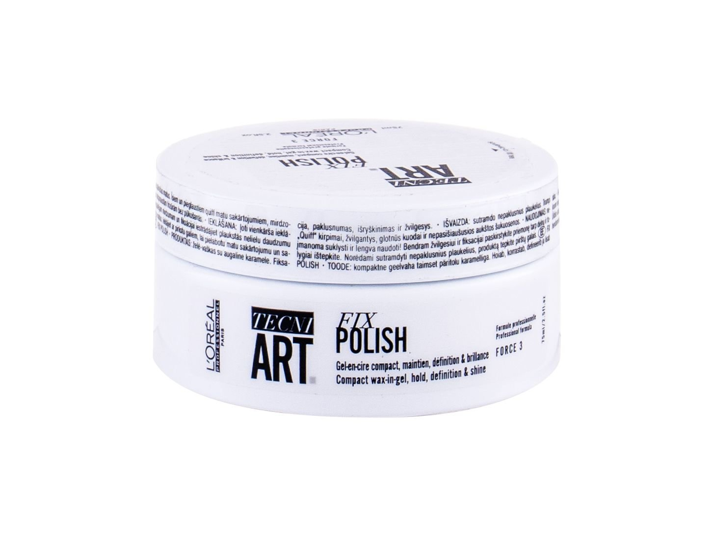 L´Oréal Professionnel Tecni.Art Fix Polish, Vosk na vlasy 75ml