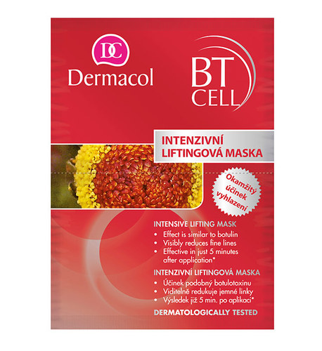 Dermacol BT Cell Intensive Lifting Mask, Pleťová maska 16g