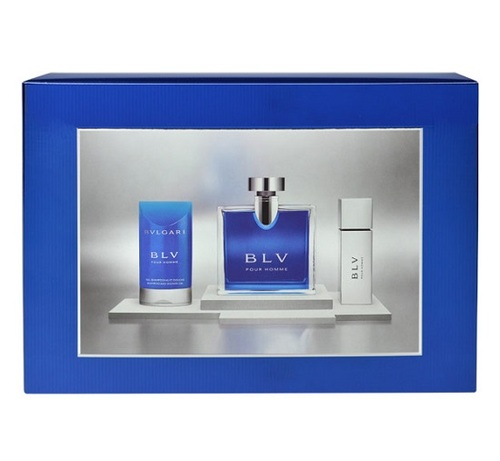 Bvlgari BLV, Edt 100ml + 75ml sprchový gel + 15ml Edt