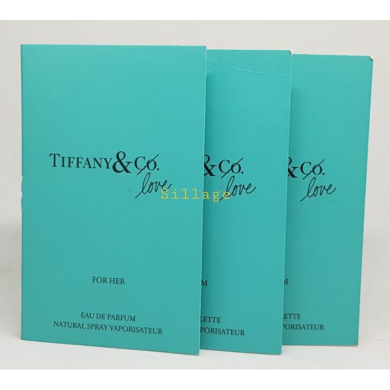 Tiffany & Co. Tiffany & Love for her, odstrek Illatminta 3ml - EDP