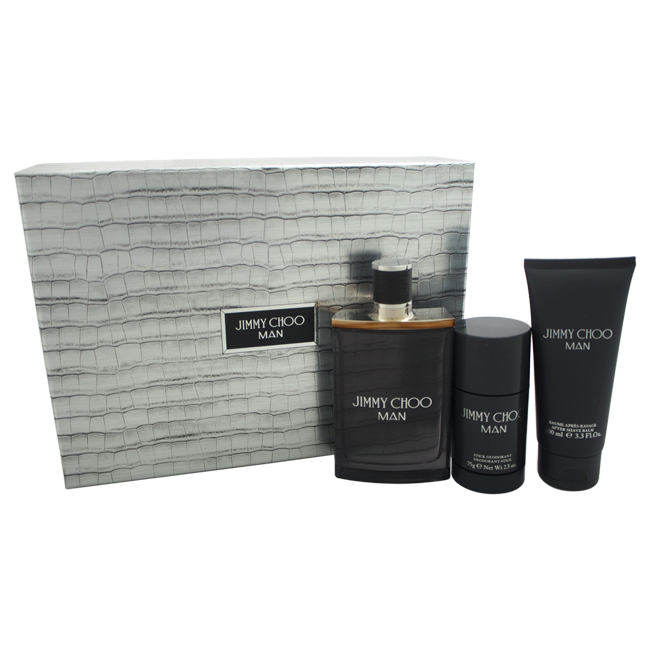 Jimmy Choo Jimmy Choo Man, EDT 100ml + balzám po holení 100ml + 75ml stick