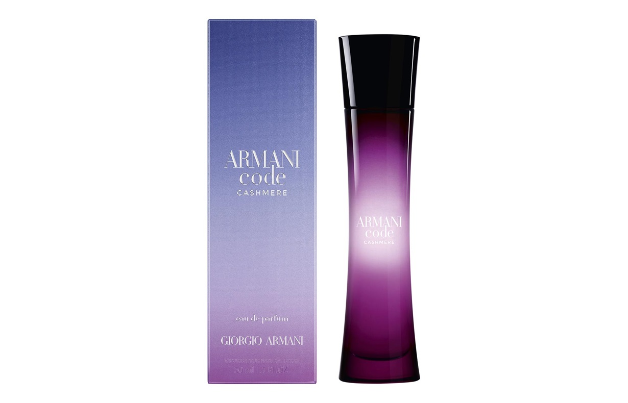 Giorgio Armani Code Cashmere, Vzorka vône
