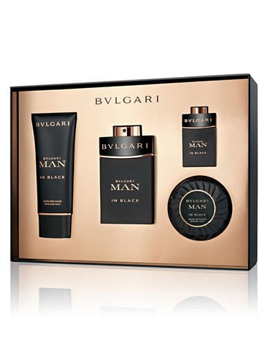 Bvlgari Man In Black, Edp 100ml + Edp 15ml + 100ml balsam po holení + 100ml mydlo na holenie