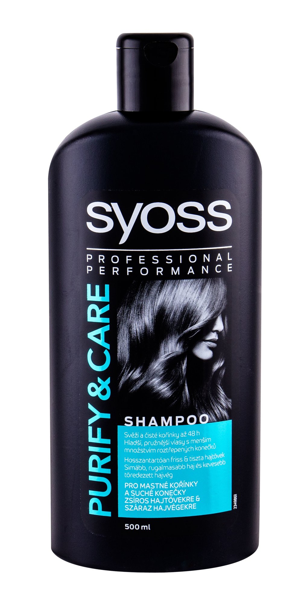 Syoss Professional Performance Purify & Care, Sampon 500ml