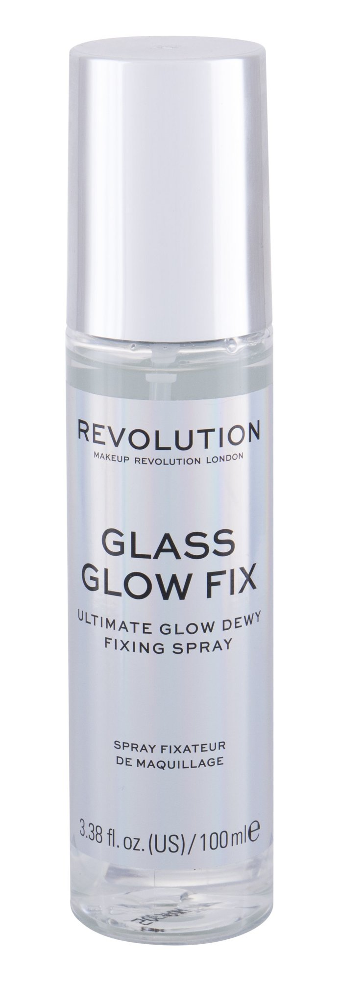 Makeup Revolution London Glass Glow Fix, Fixátor Alapozóu 100ml