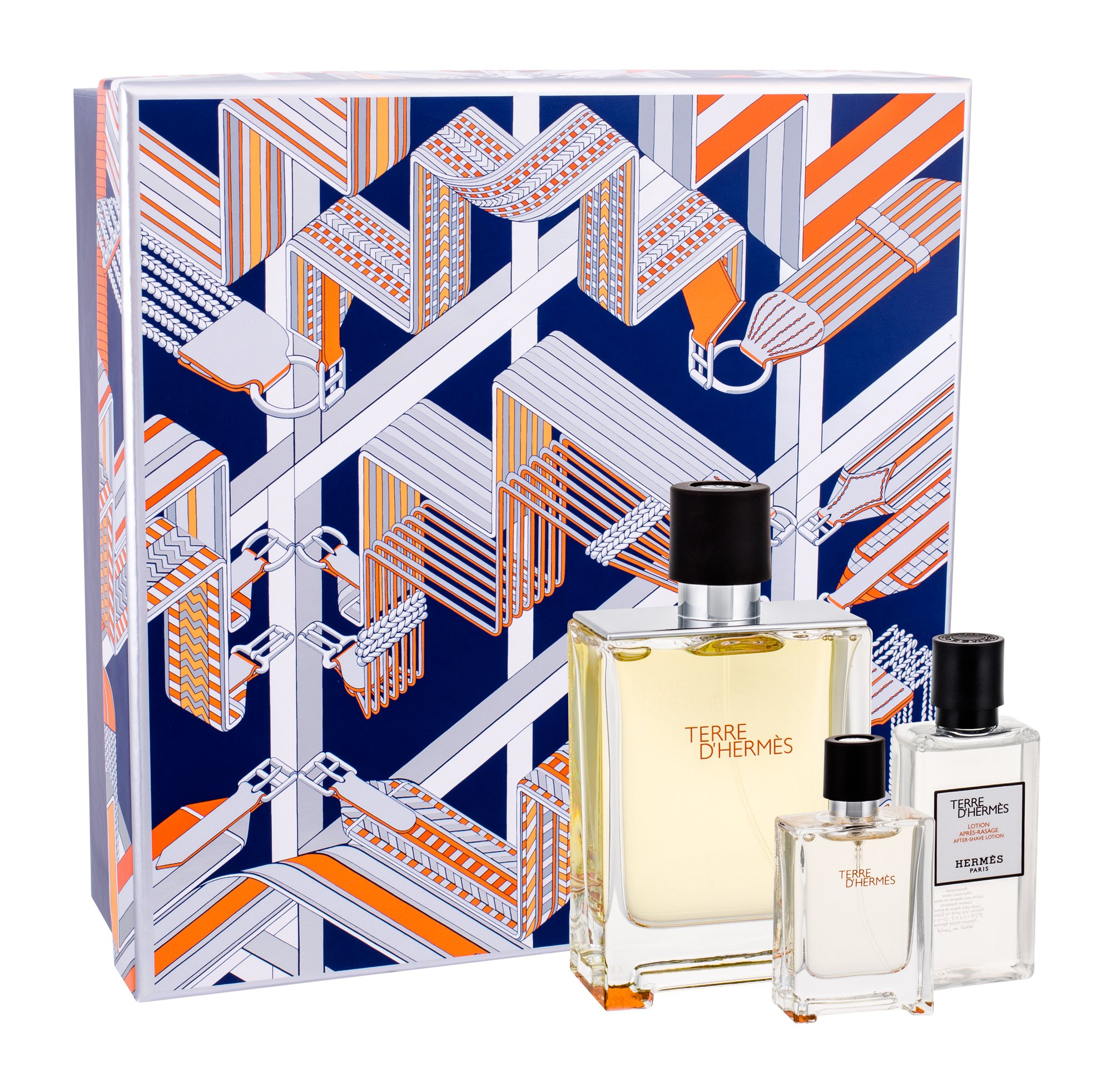 Hermes Terre D´Hermes, Edt 100 + 12,5ml toaletní voda + 40ml after shave