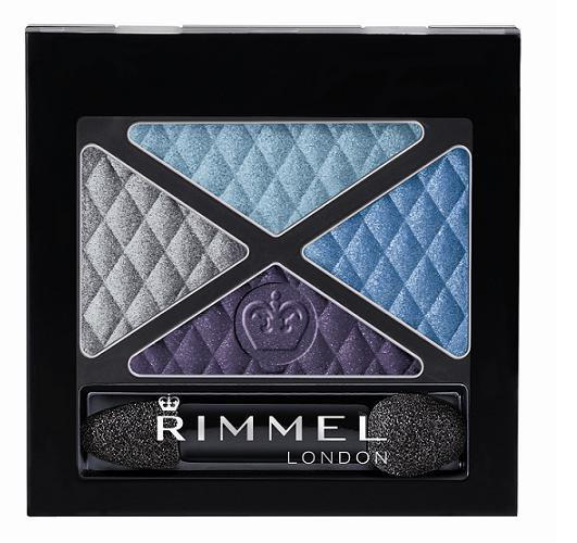 Rimmel London Glam Eyes Quad, SzemhéjPúder 4,2g