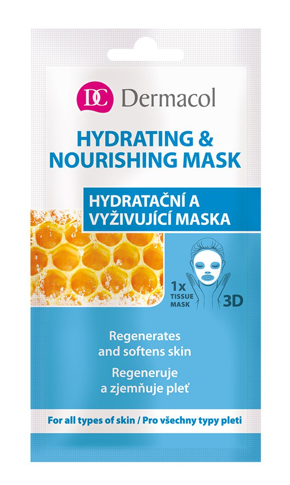 Dermacol Hydrating & Nourishing Mask, Pleťová Maszk 15ml