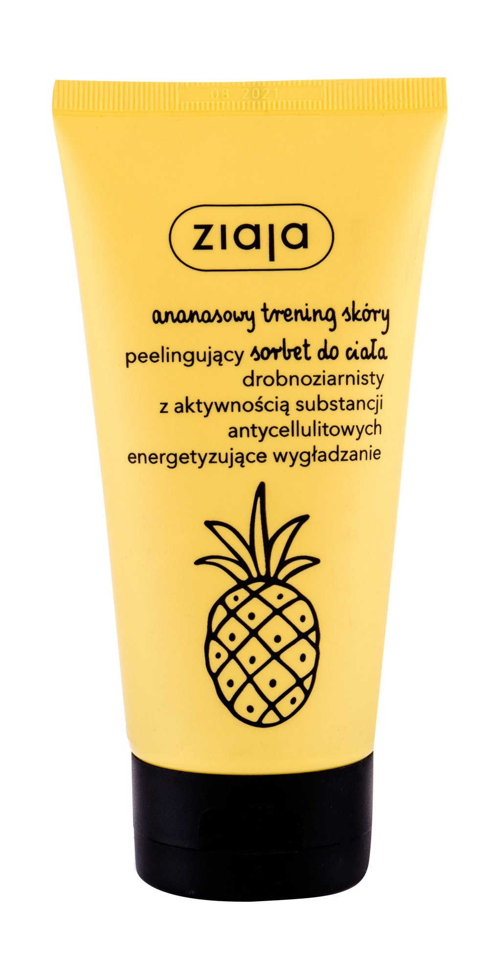Ziaja Pineapple Body Scrub, Proti celulitíde a striám 160ml