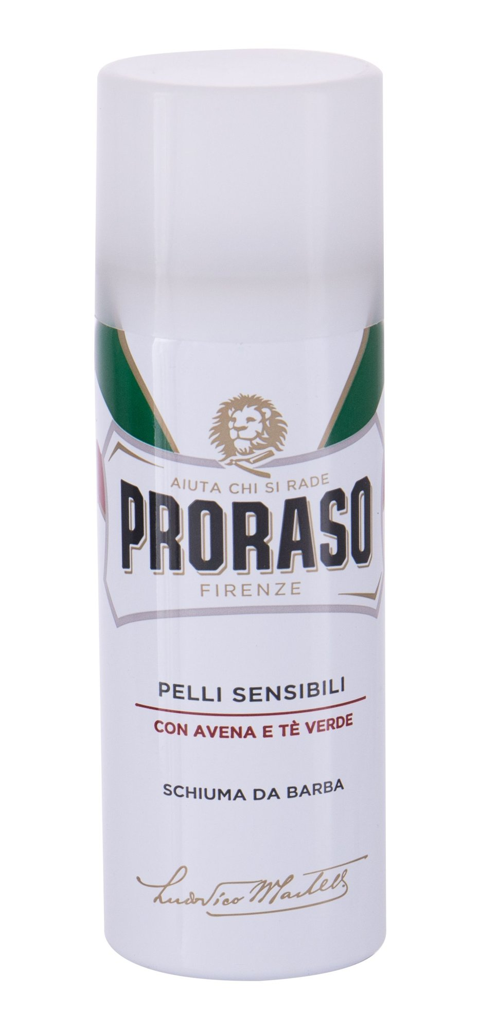 PRORASO White Shaving Foam, Hab na holenie 50ml