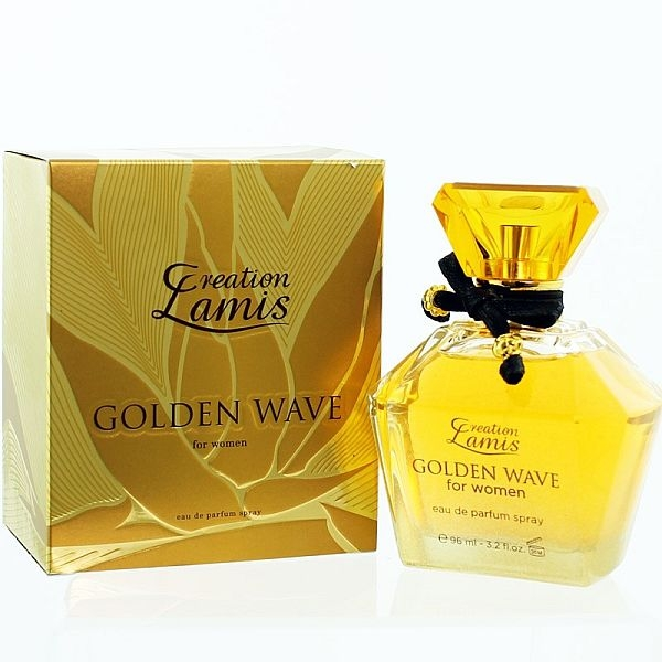 Lamis Creation Golden Wave, Parfémovaná voda 96ml (Alternatíva parfému Paco Rabanne Lady Million)