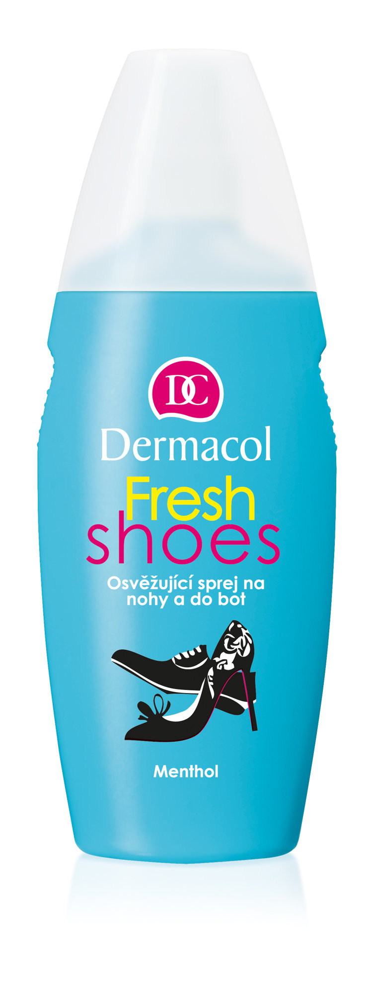 Dermacol Fresh Shoes, Sprej na nohy 130ml