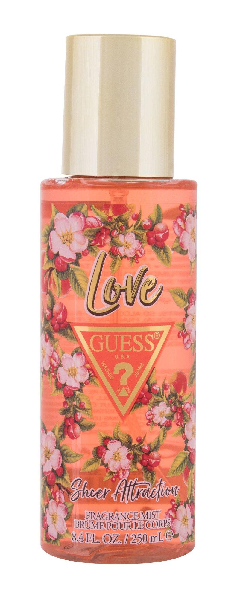 GUESS Love Sheer Attraction, Telový sprej 250ml