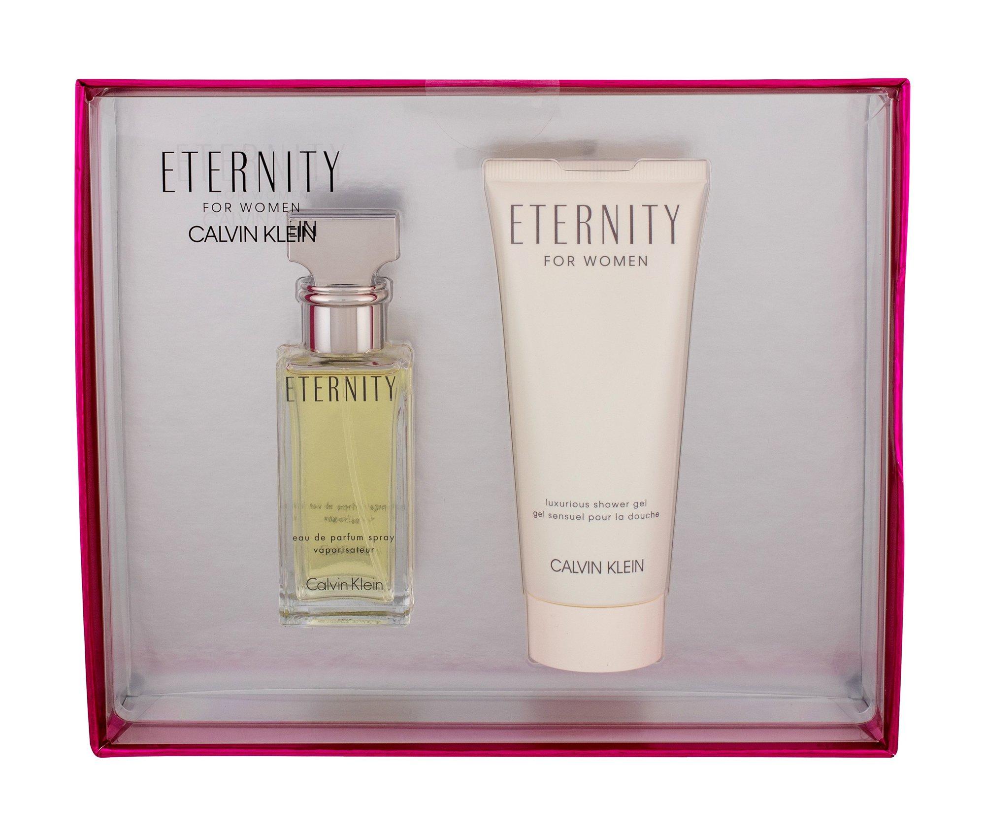 Calvin Klein Eternity, Edp 30ml + 100ml Sprchový gél