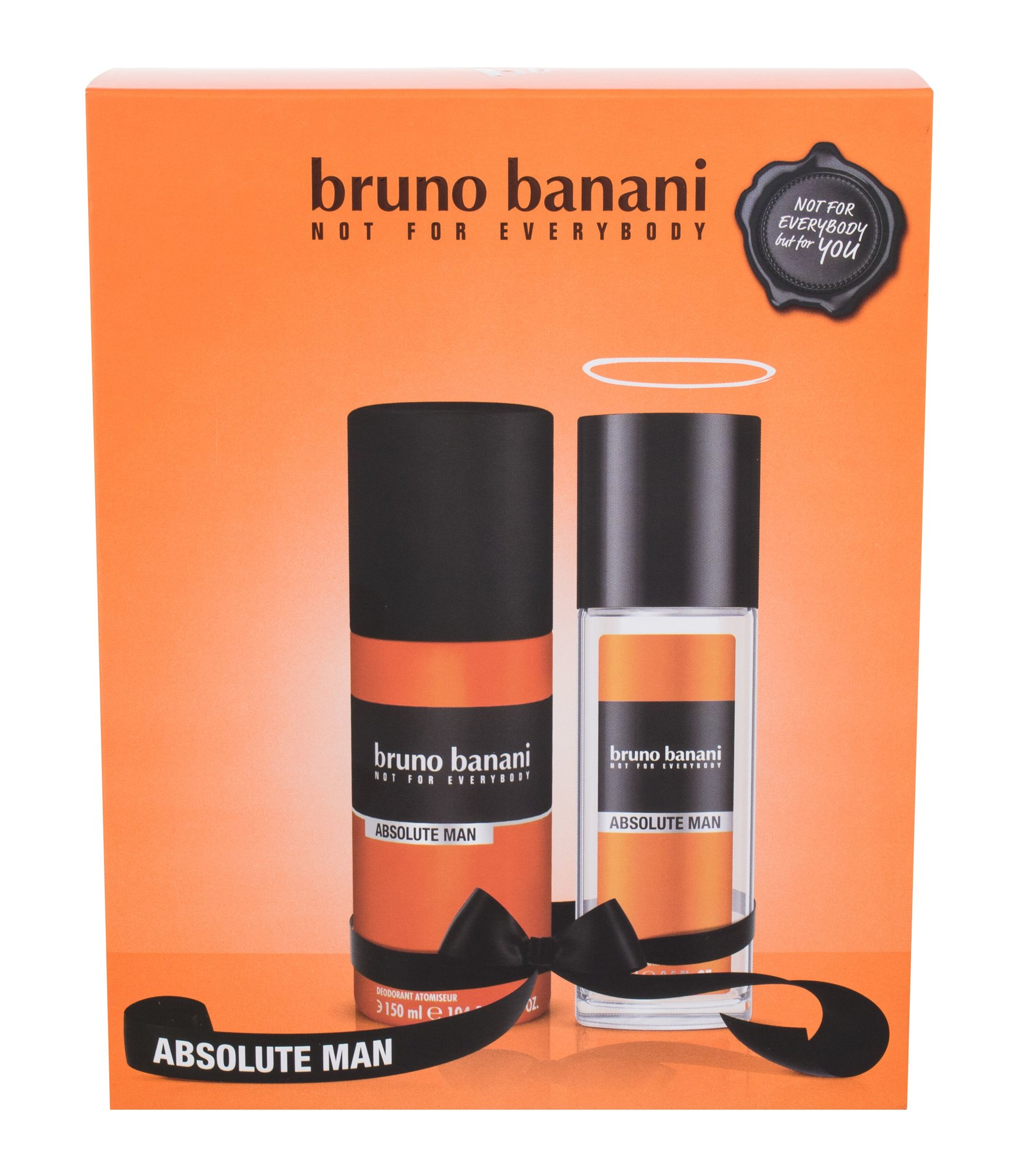 Bruno Banani Absolute Man, dezodorant v skle 75 ml + deospray150 ml
