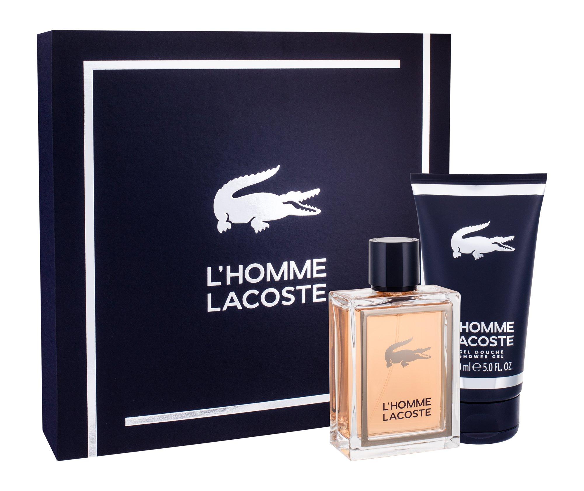Lacoste L´Homme Lacoste, toaletná voda 100 ml + sprchovací gél 150 ml