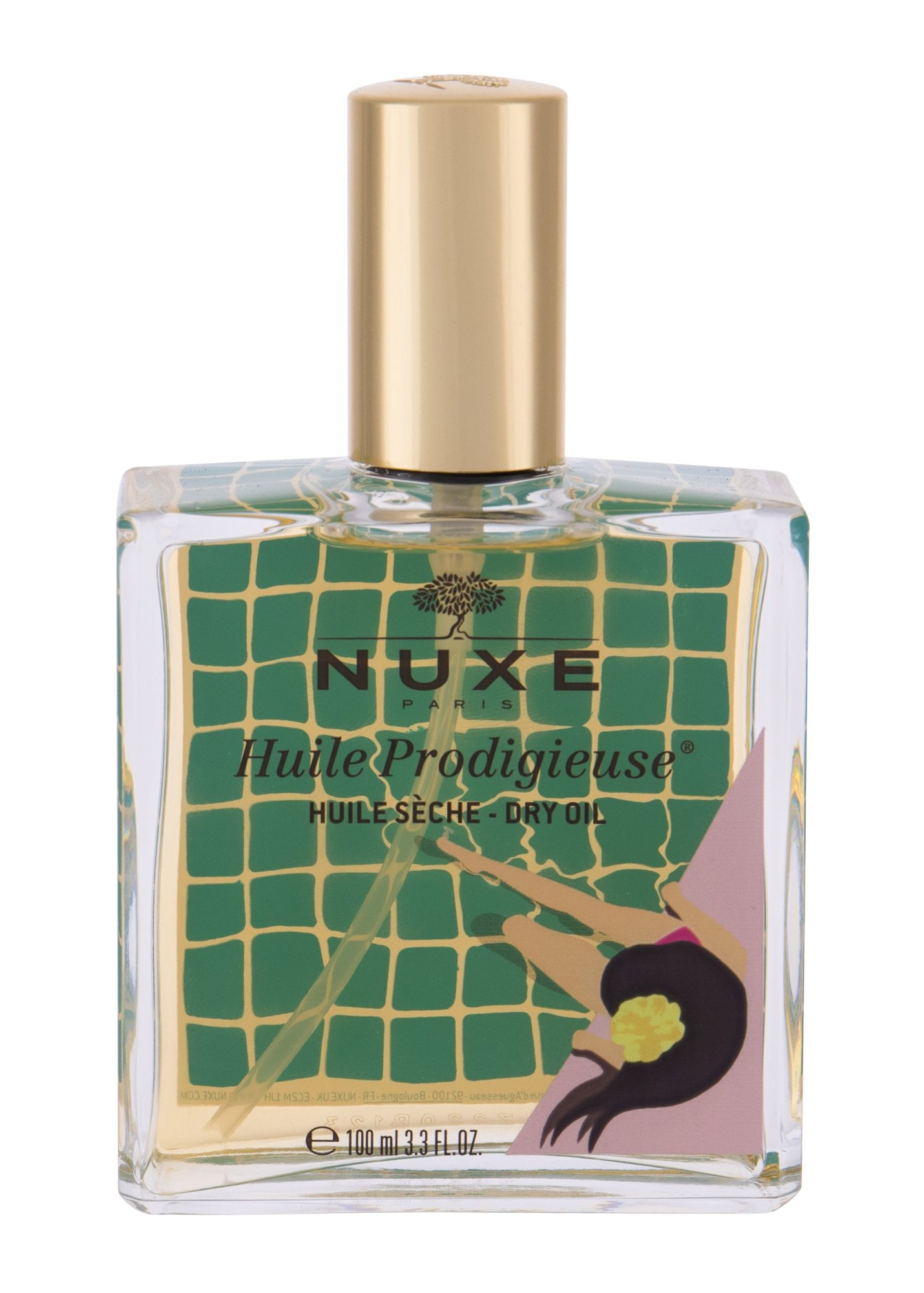 NUXE Huile Prodigieuse Limited Edition, Testápoló olaj 100ml - Multi-Purpose Dry Oil