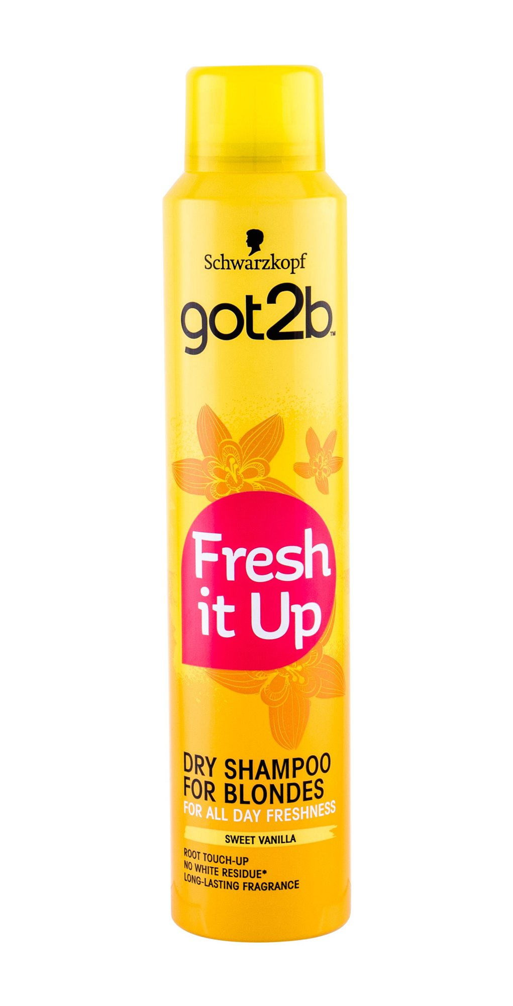 Schwarzkopf Got2b Fresh It Up For Blondes, Suchý šampón 200ml