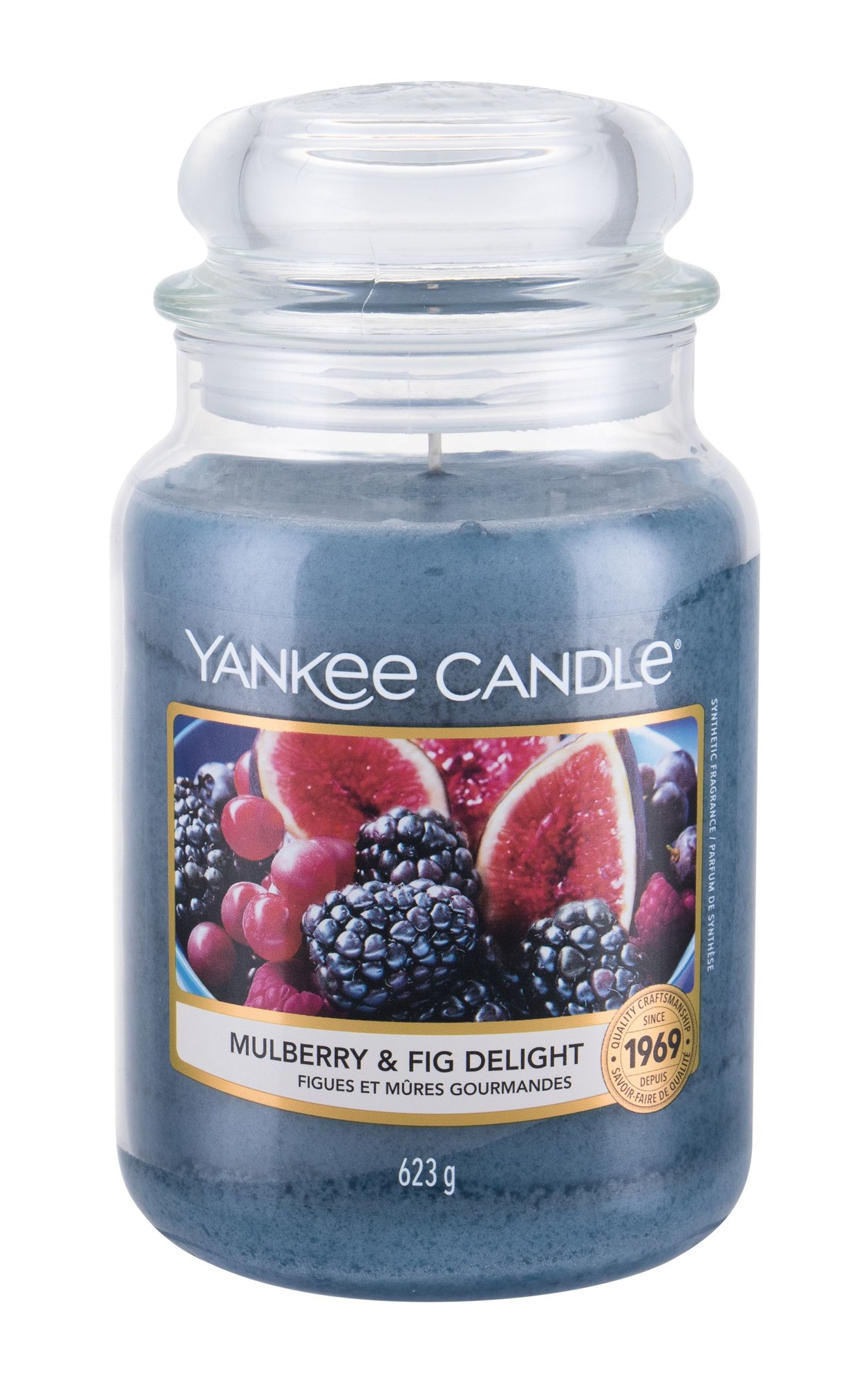 Yankee Candle Mulberry & Fig Delight, Vonná Gyertya 623g