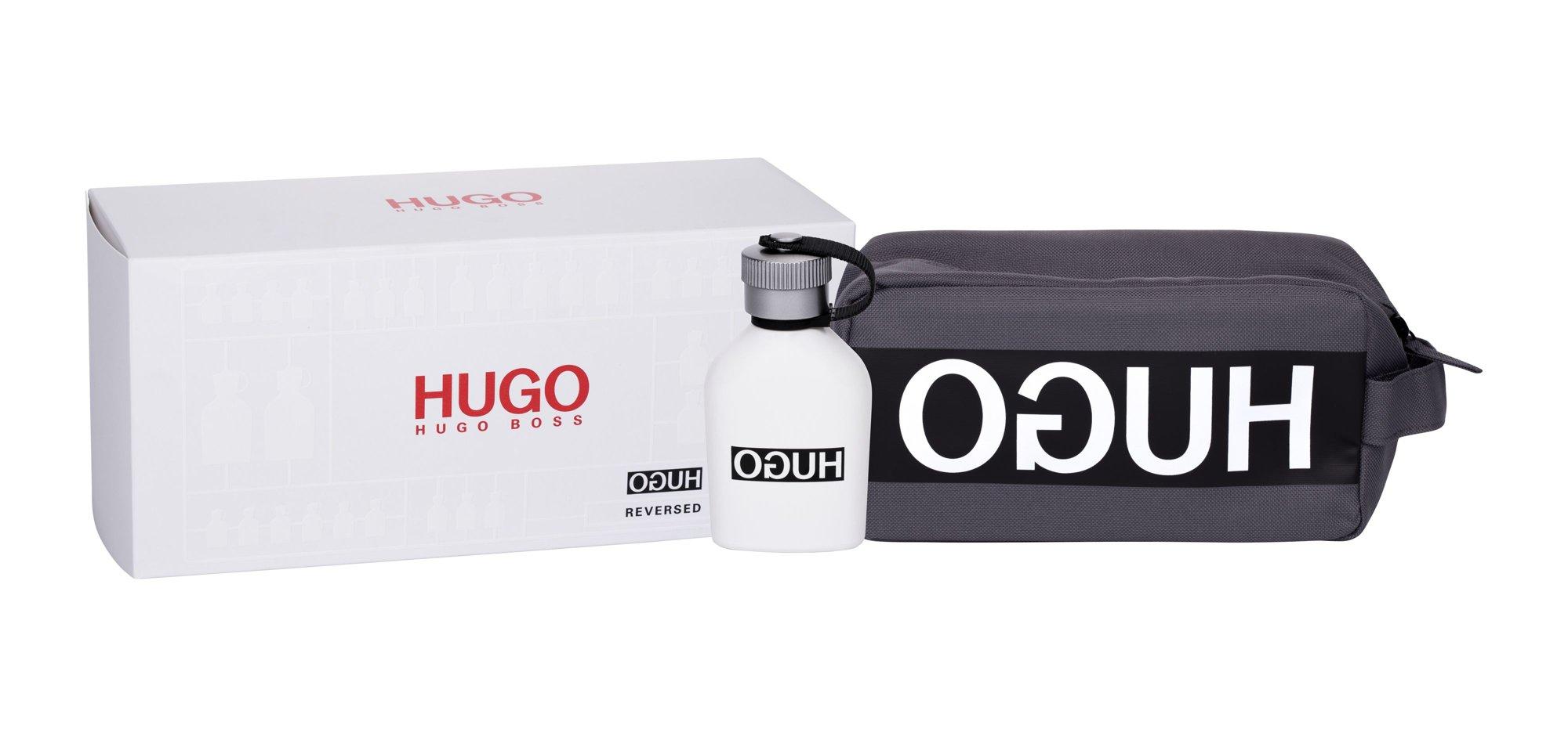 HUGO BOSS Hugo Reversed, toaletná voda 75 ml + kozmetická taška