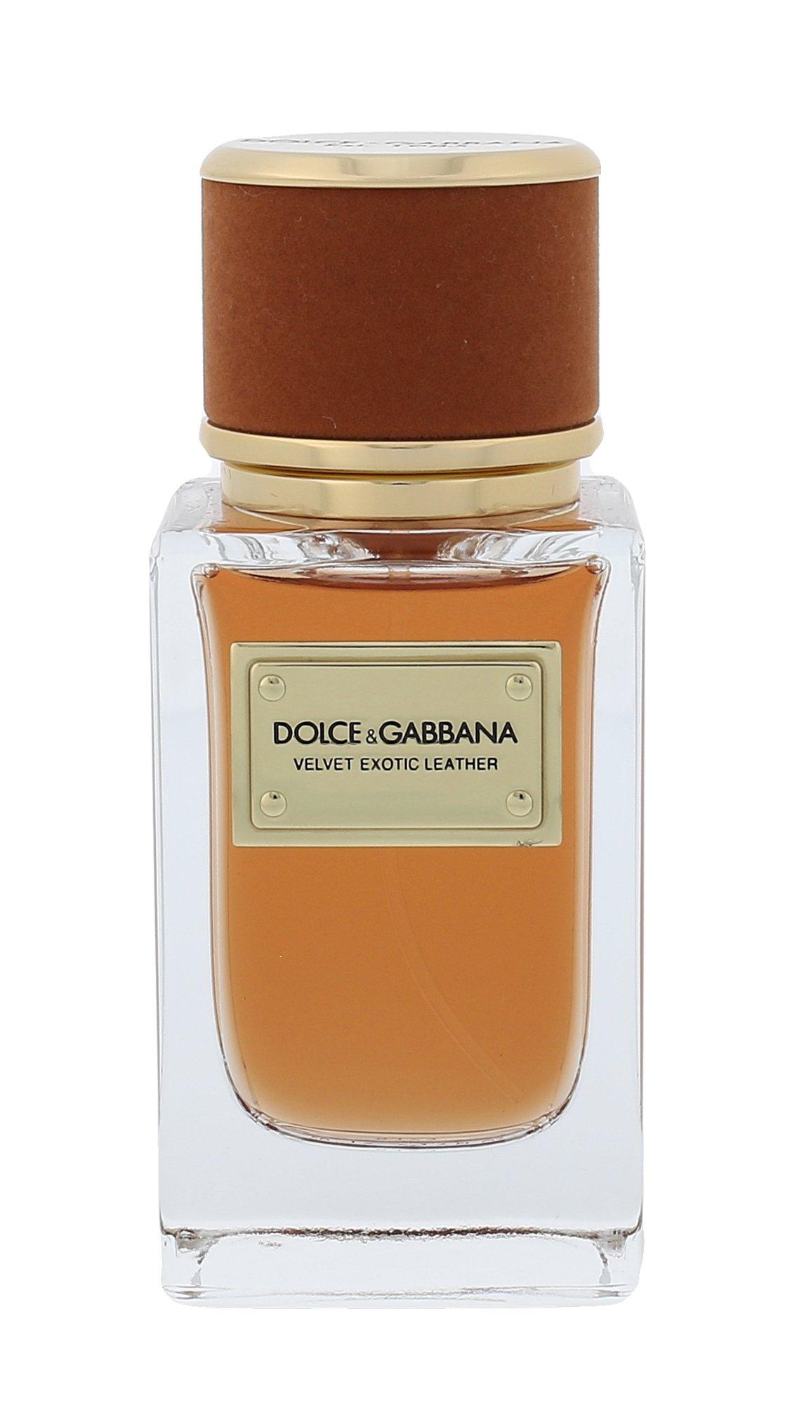 Dolce & Gabbana Velvet Exotic leather (M)