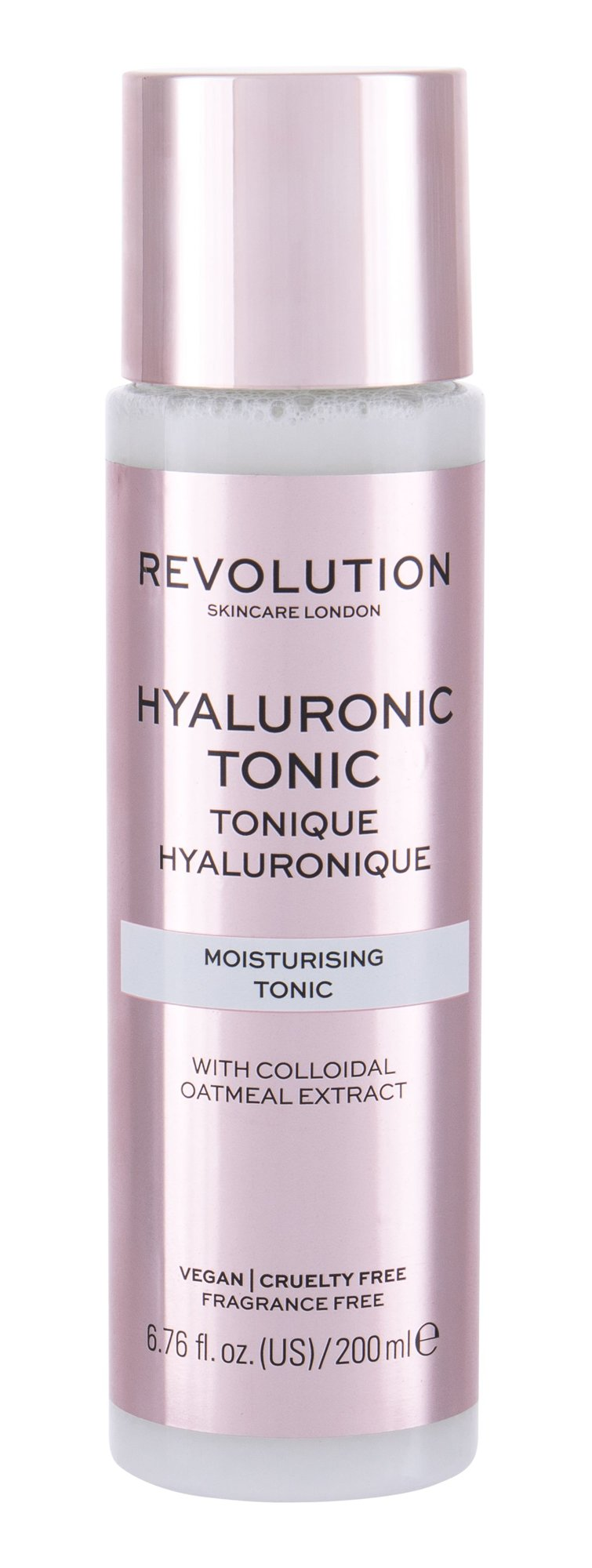 Makeup Revolution London Skincare Hyaluronic Tonic, arcvíz a sprej 200ml - Moisturising