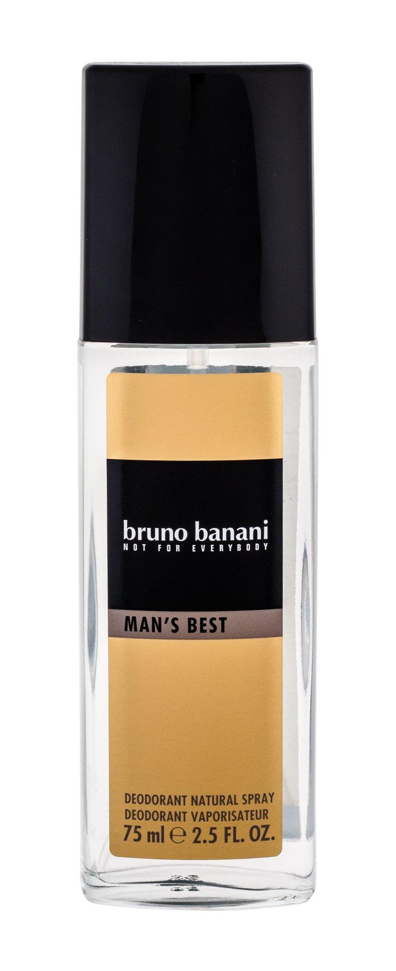 Bruno Banani Man´s Best, Deodorant v skle 75ml