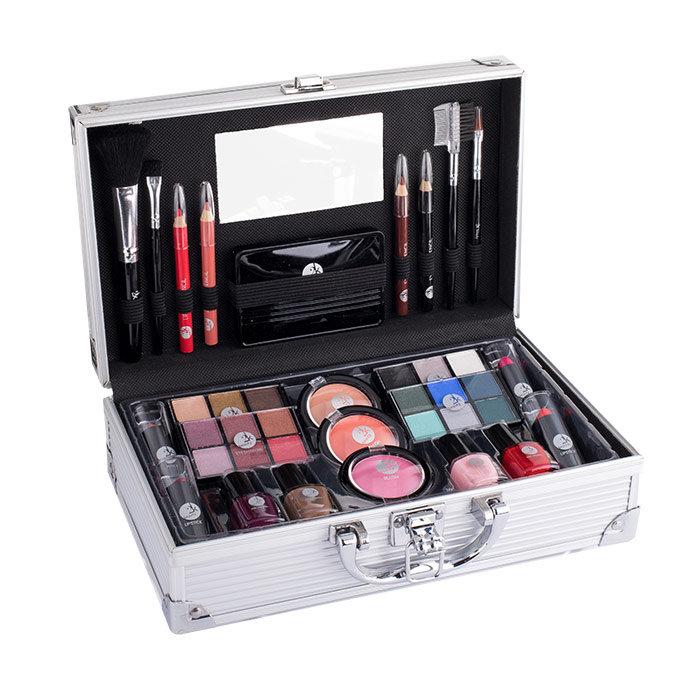2K Fabulous Beauty Train Case, Complete Makeup Palette