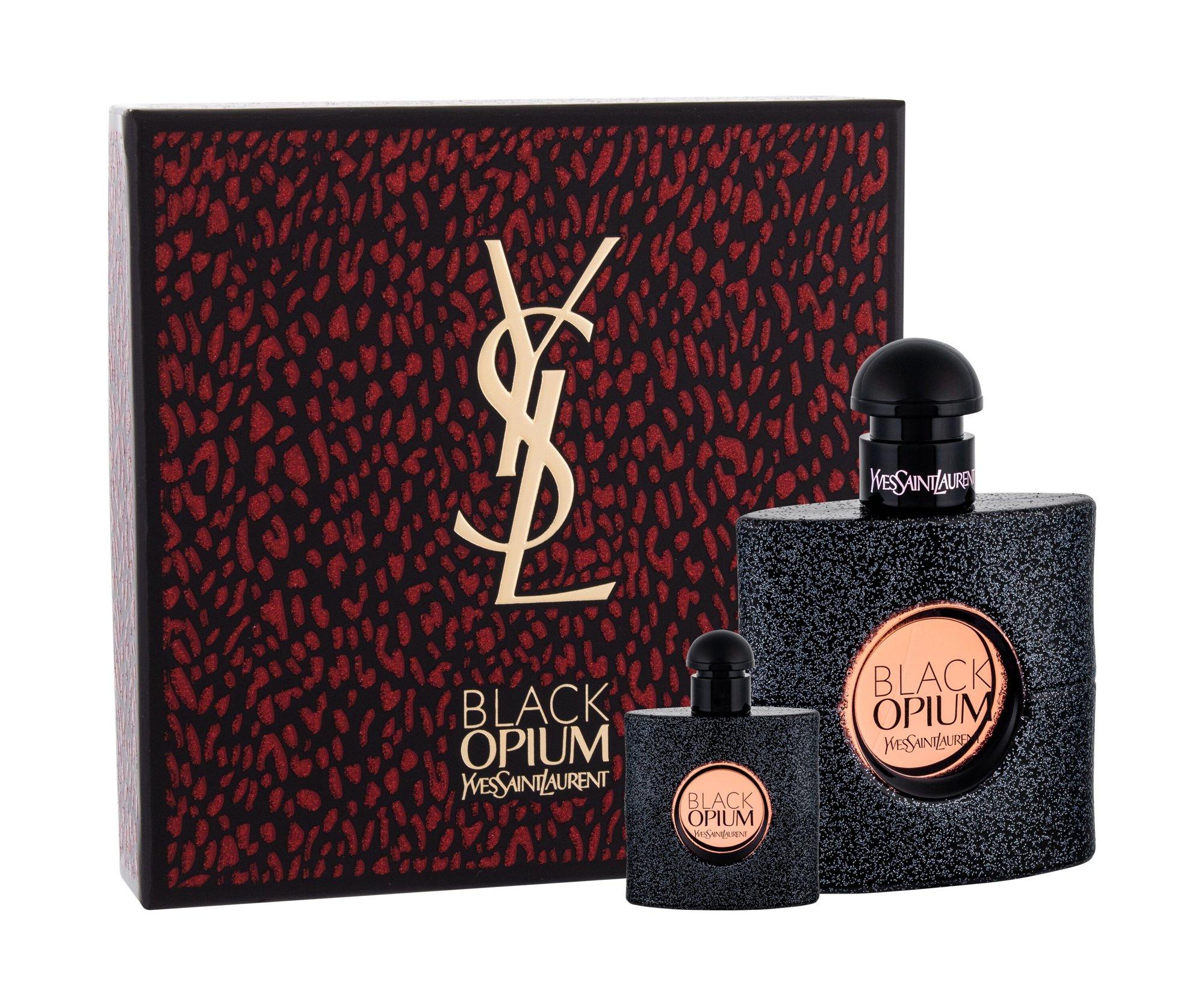 Yves Saint Laurent Black Opium, parfumovaná voda 50 ml + parfumovaná voda 7,5 ml
