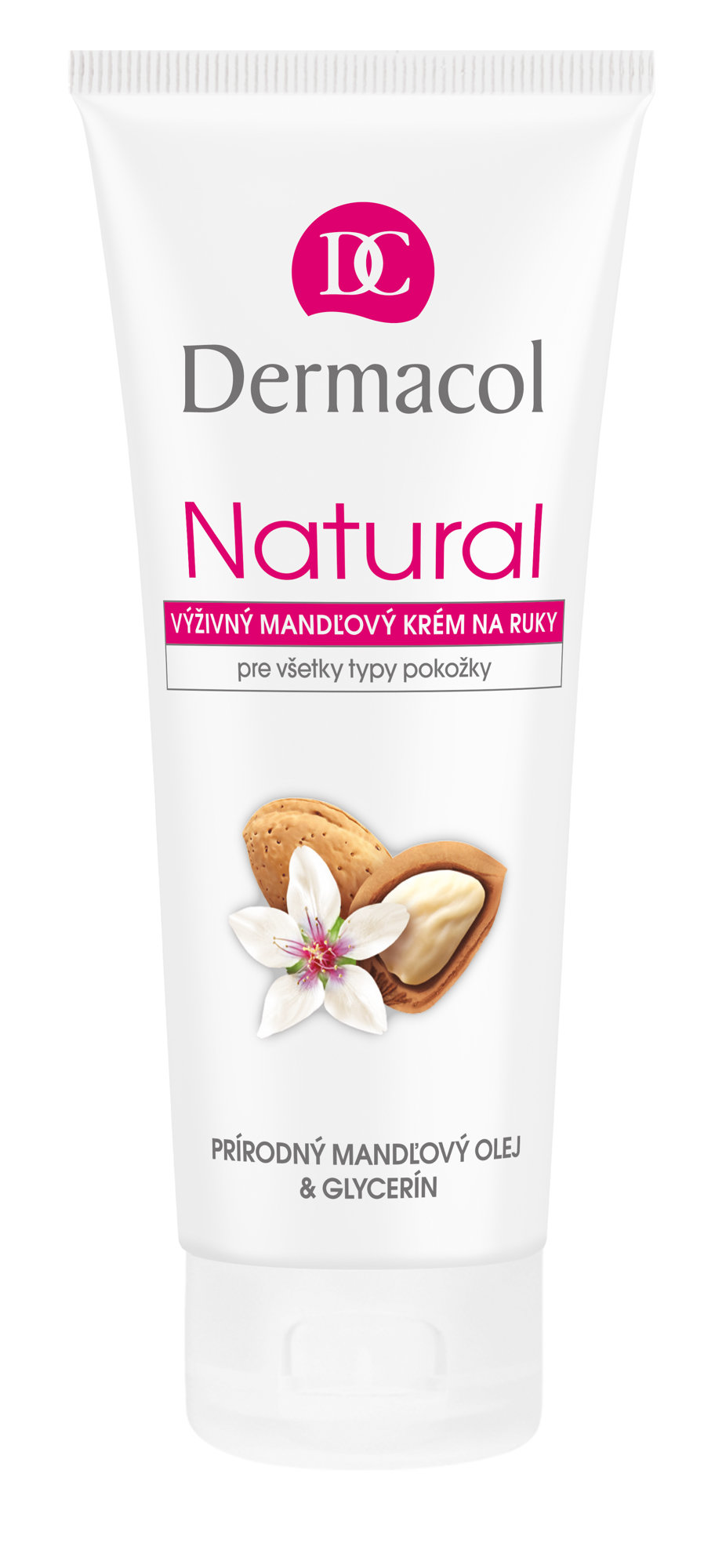 Dermacol Natural Almond, Krém na ruky 100ml