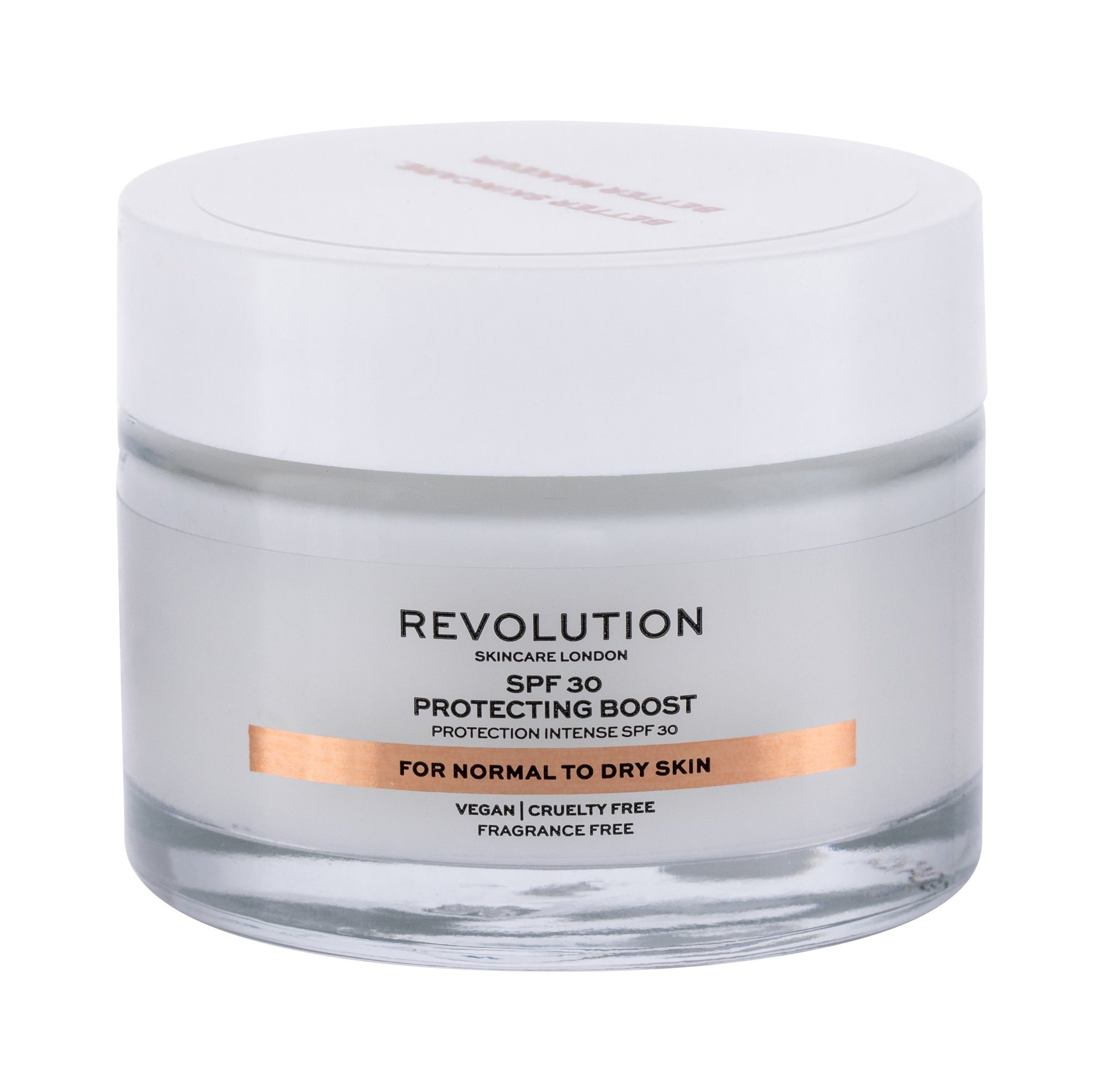 Revolution Skincare Moisture Cream Normal to Dry Skin, Denný arcápoló krém 50ml - SPF30