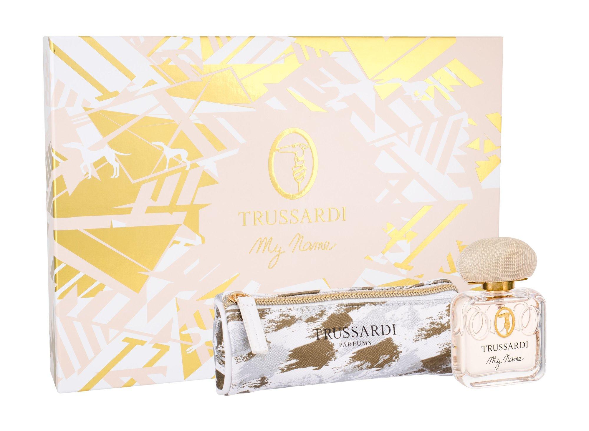 Trussardi My Name Pour Femme, parfumovaná voda 50 ml + kozmetická taška