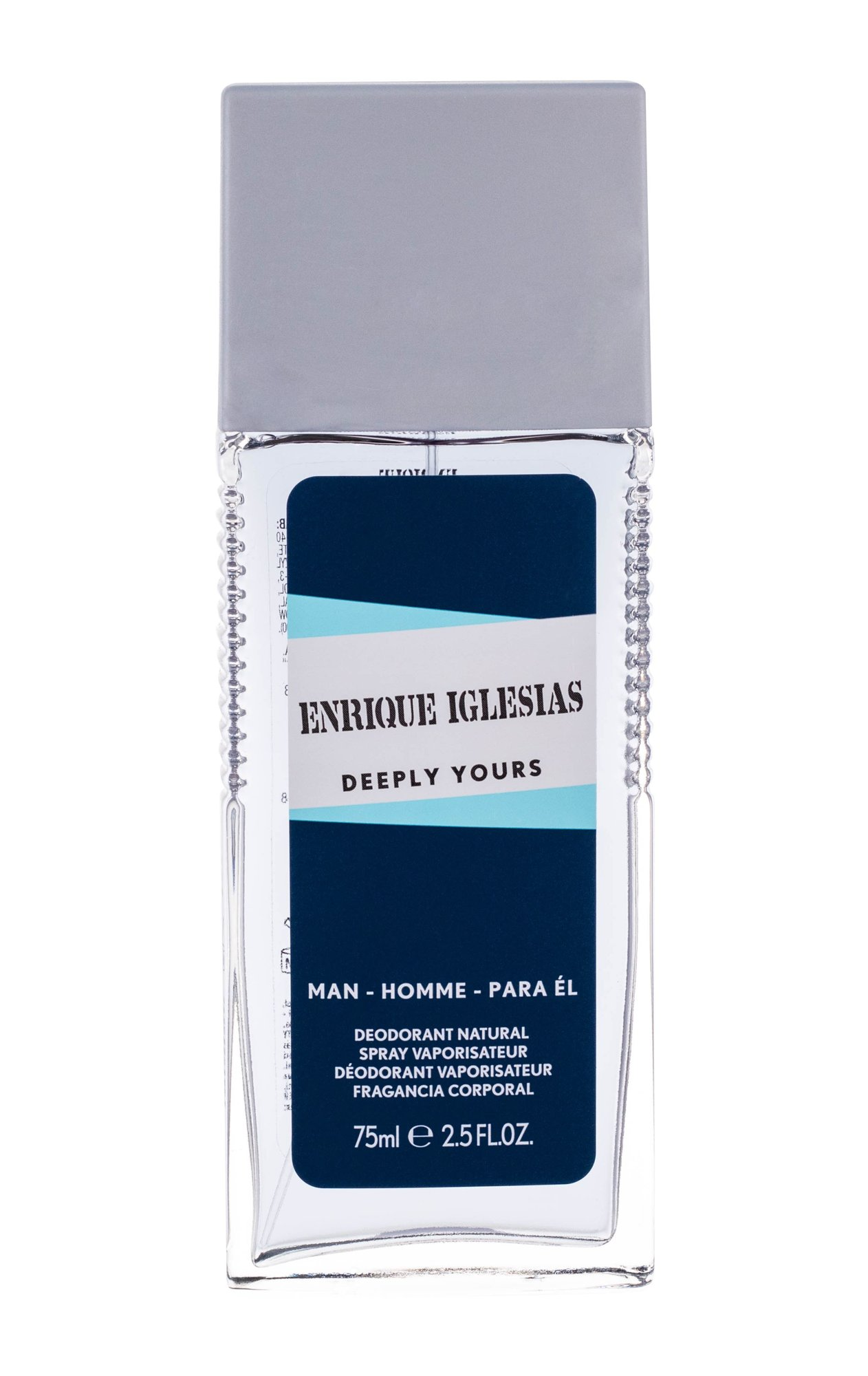Enrique Iglesias Deeply Yours Man, Üveges dezodor 75ml