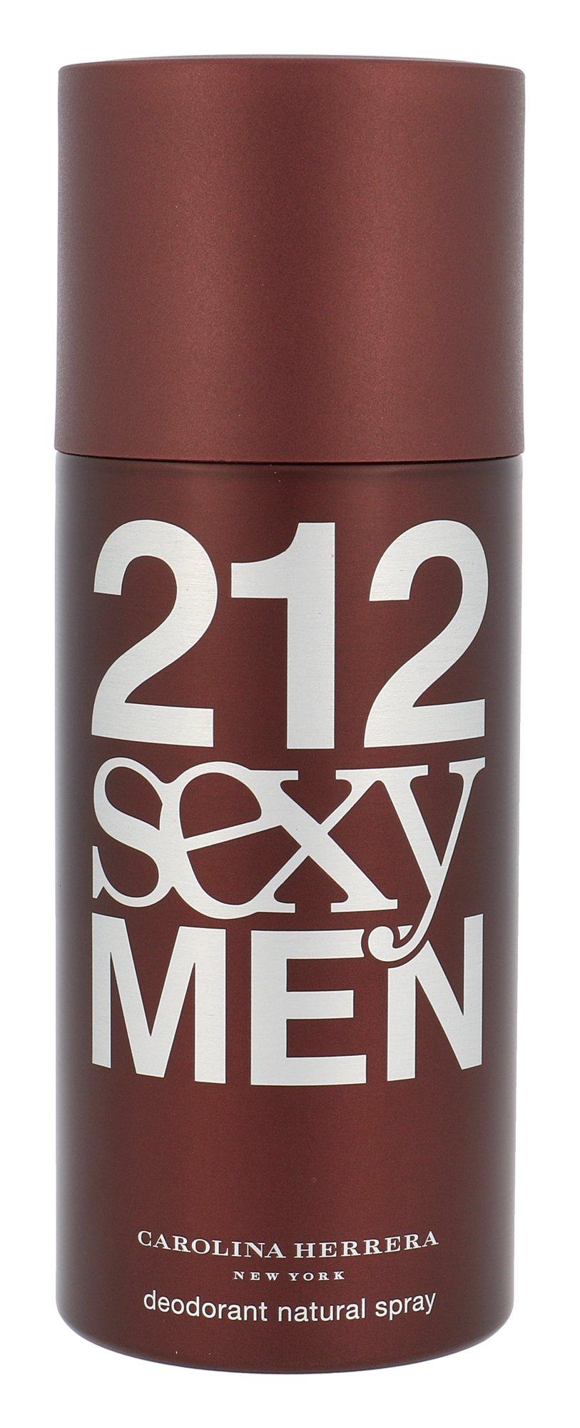 Carolina Herrera 212 Sexy Men, Deodorant 150ml