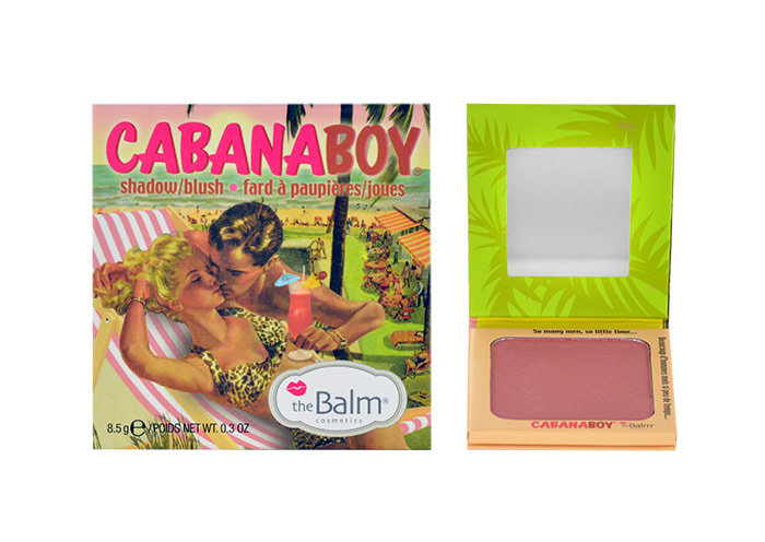 TheBalm CabanaBoy Shadow & Blush Shadow & Blush, Arcpirosító 8,5g