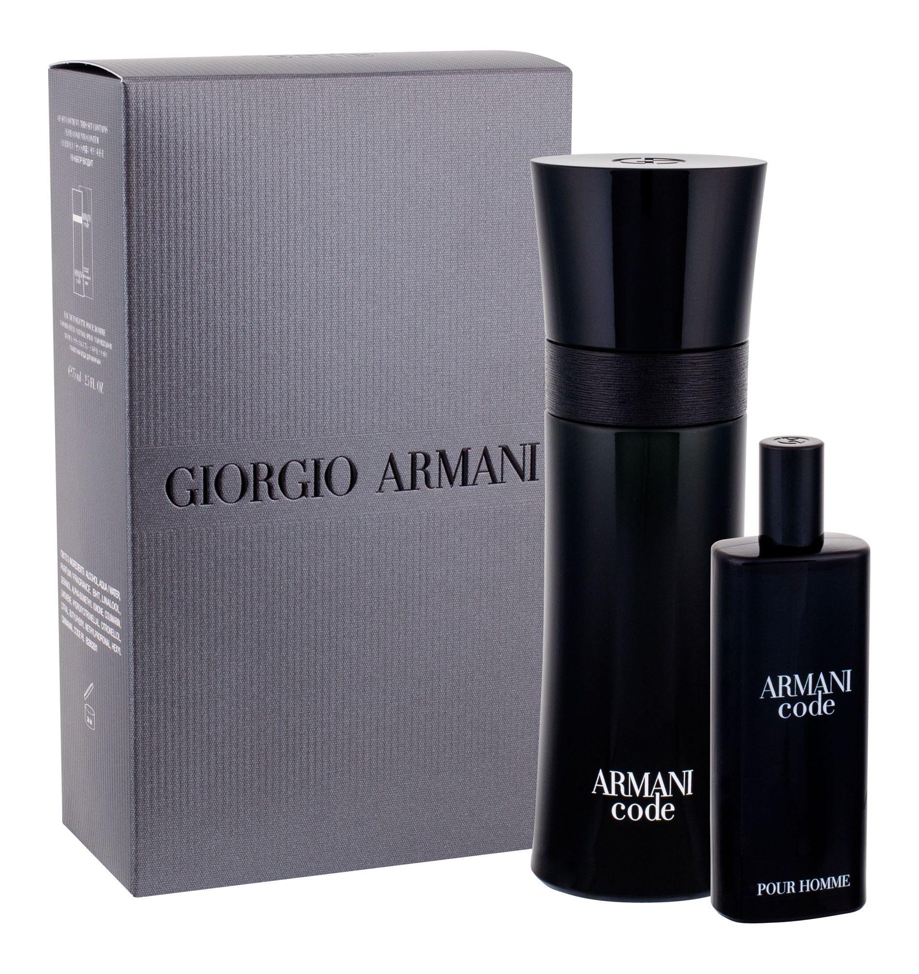 Giorgio Armani Armani Code Pour Homme, edt 75 ml + edt 15 ml