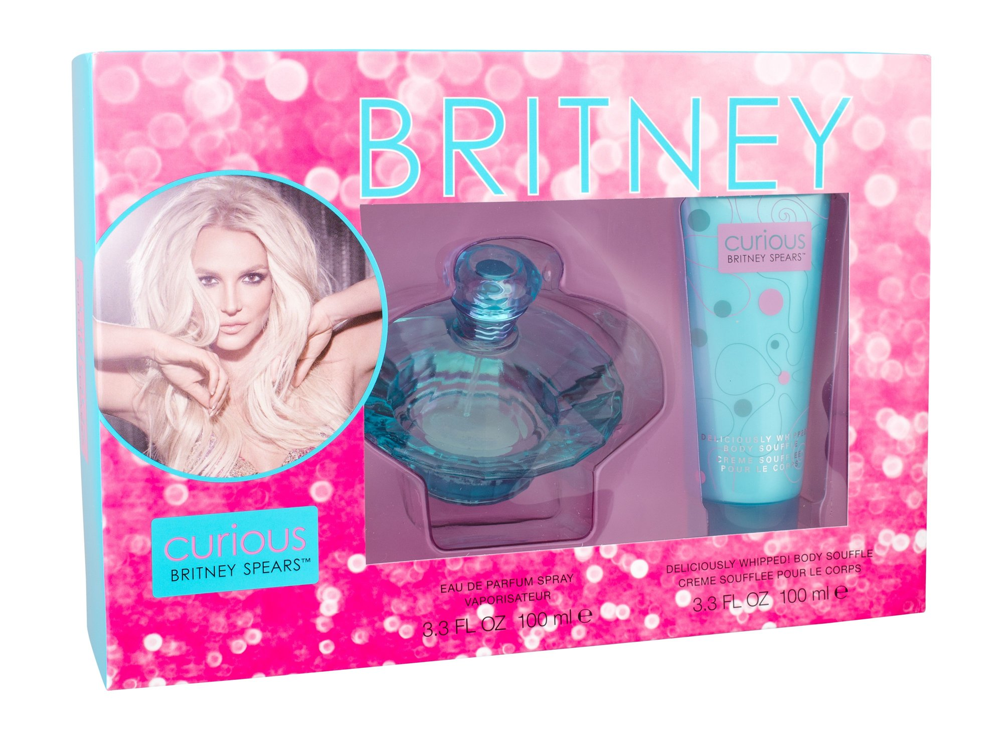 Britney Spears Curious, Edp 100ml + 100ml tělový krém