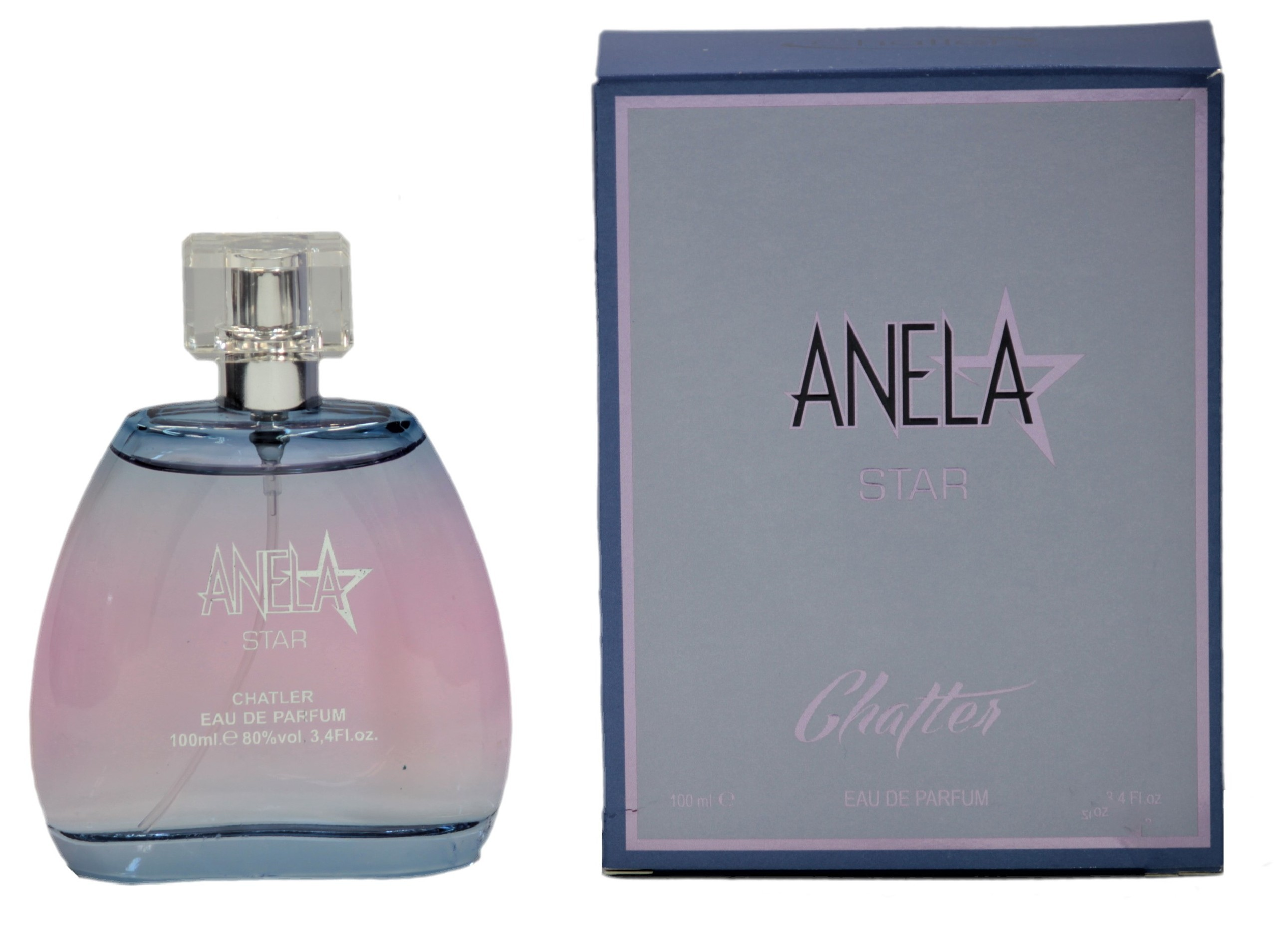 Chatler Anela Star, edp 100ml (Alternatív illat Thierry Mugler Angel)