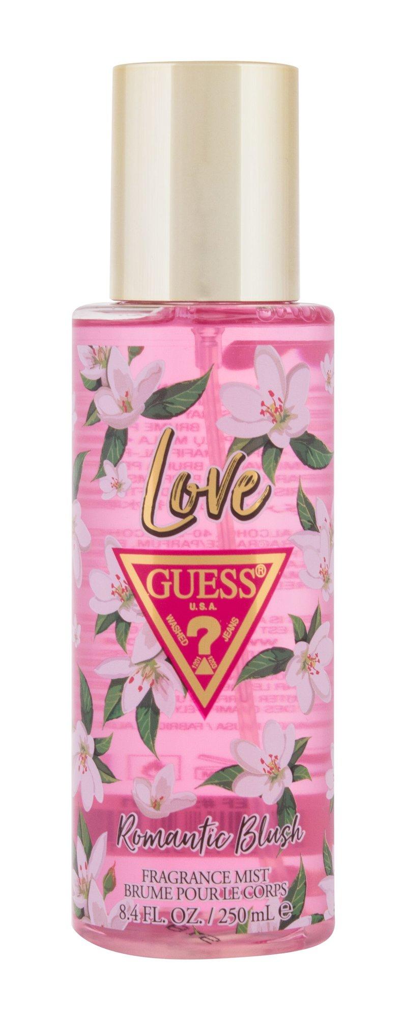 GUESS Love Romantic Blush, Telový sprej 250ml