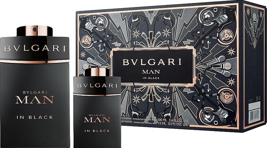 Bvlgari Man in Black SET:  edp 100ml + edp 15ml