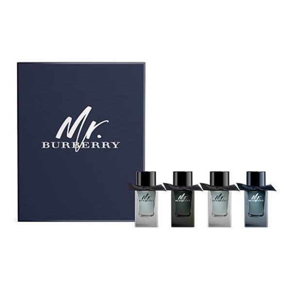 Burberry Mini SET: 2x Mr. Burberry edt 5ml + Mr. Burberry edp 5ml + Mr. Burberry Indigo edt 5ml